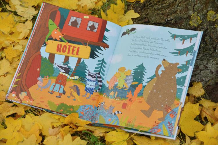 Hotel Winterschlaf im Herbst