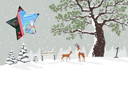 1. Adventskalendertürchen: Wir freuen uns auf kunterbunte Weihnachten