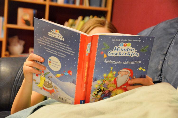 Kinderbuch Kunterbunte Weihnachten