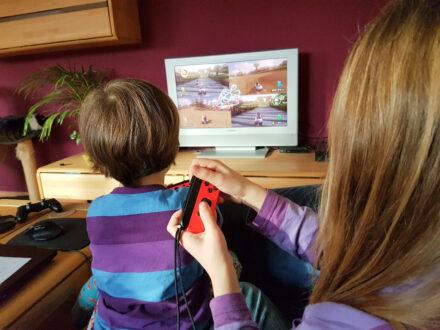Nintendo Switch – Eine Familienkonsole zieht bei uns ein