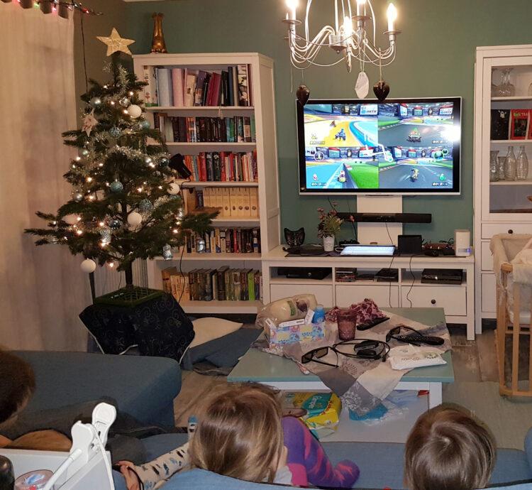 Nintendo Switch als Weihnachtgeschenk