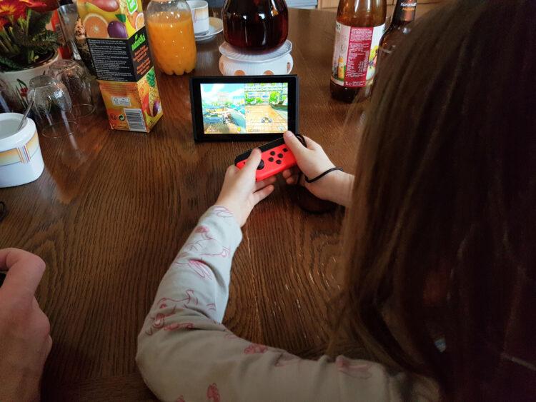 Nintendo Switch auf Reisen