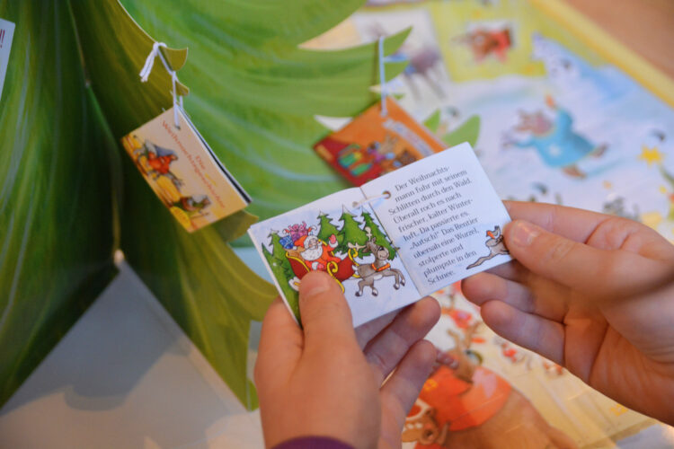 Mini-Pixi Adventskalender lesen