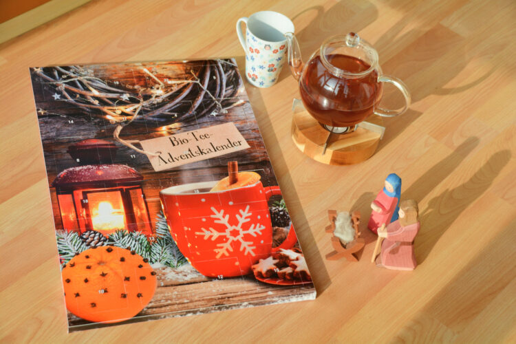 Bio-Tee-Adventskalender Bull & Bear
