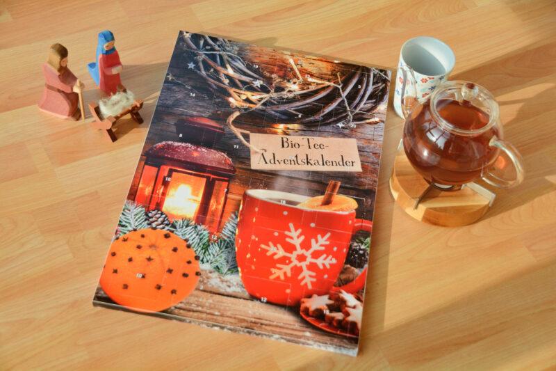 Jeden Tag ein Tee: Mit dem Bio-Tee-Adventskalender von Bull & Bear die Adventzeit genießen + Gewinnspiel