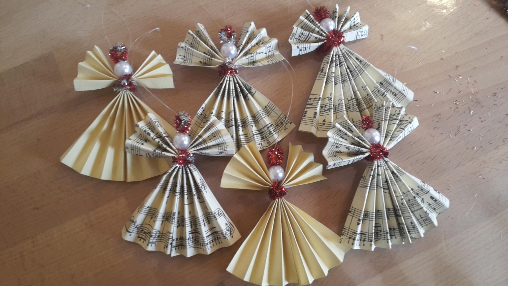 11 adventskalendert rchen weihnachtsengel aus papier gastbeitrag. Black Bedroom Furniture Sets. Home Design Ideas