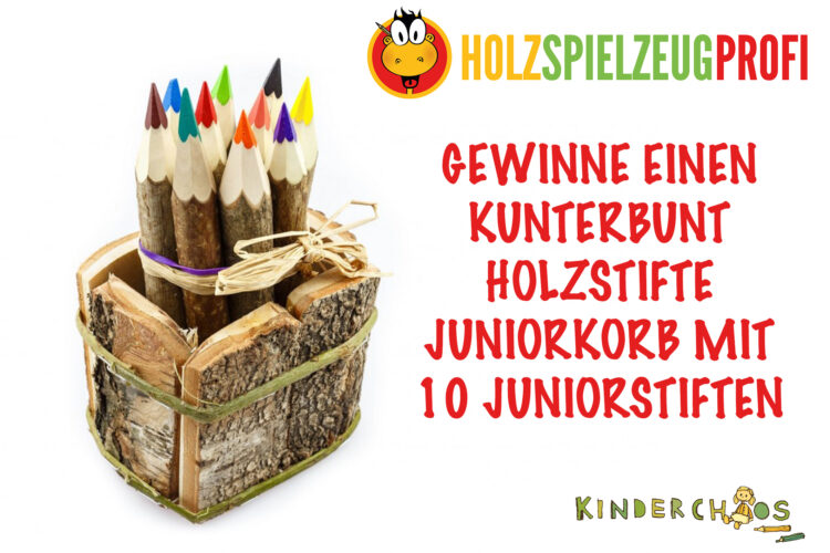 KUNTERBUNT HOLZSTIFTE JUNIORKORB