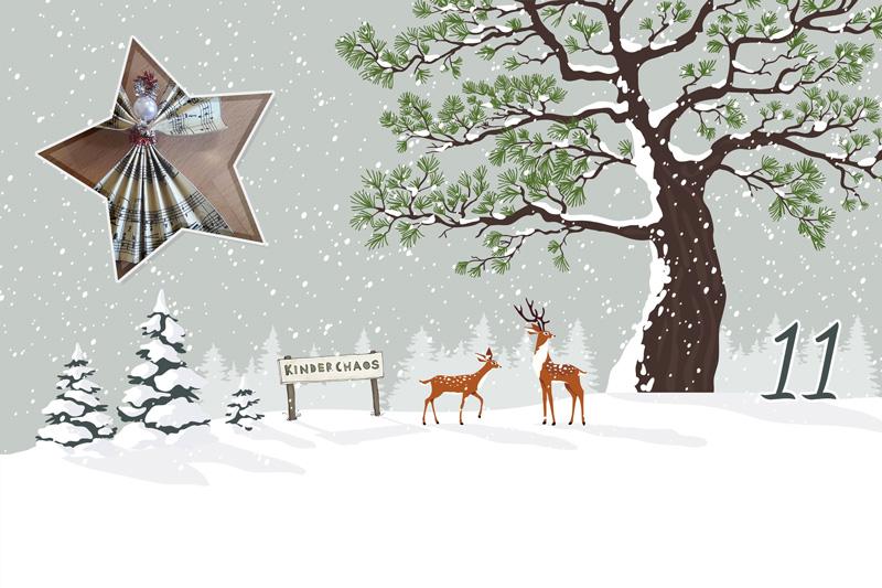 11. Adventskalendertürchen: Weihnachtsengel aus Papier (Gastbeitrag)