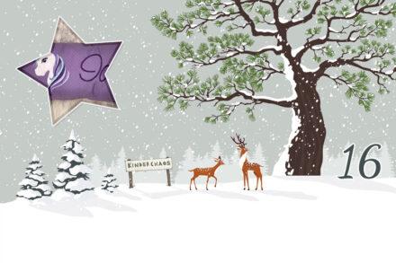 16. Adventskalendertürchen: Süße Träume mit dem Minikissen von Selfmade by Marina