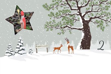 2. Adventskalendertürchen: Oh schaut mal, da kommt der Nikolaus!