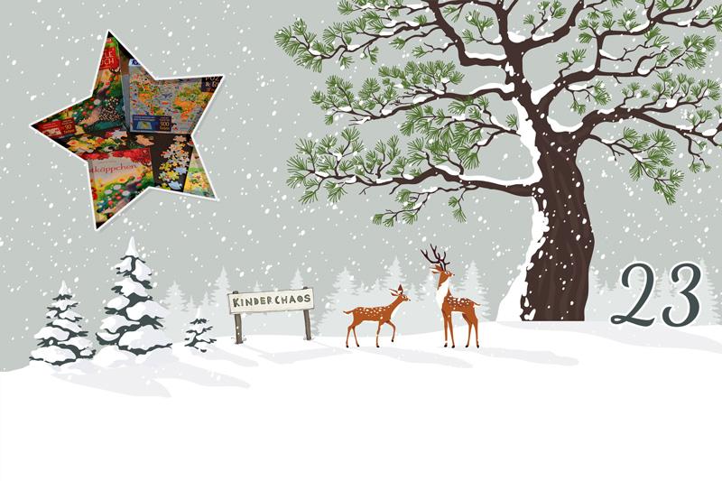 23. Adventskalendertürchen: Ein besinnlicher 4. Advent mit Puzzle & Buch von Usborne