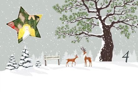 4. Adventskalendertürchen: Filzanhänger für Weihnachten basteln (Gastbeitrag)