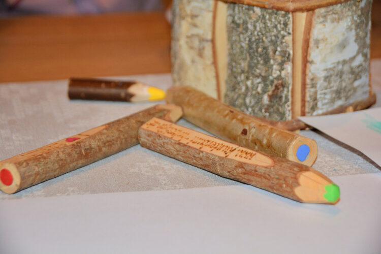 Kunterbunt Holzstifte für Kinder