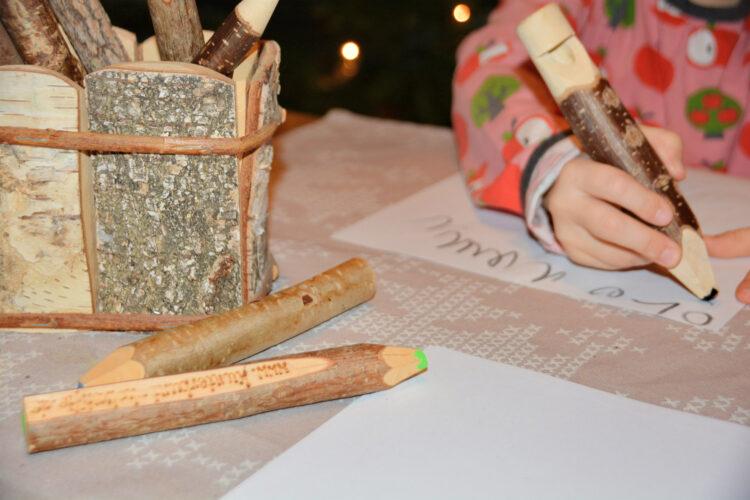Kunterbunt Holzstifte