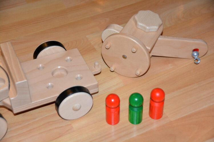 Nic Holzspielzeug Creamobil Figuren
