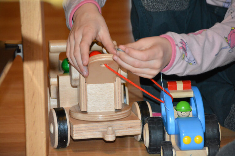 Nic Toys Creamobil Abschleppkran