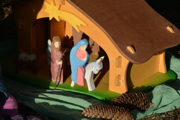 Ostheimer Maria, Josef und Esel