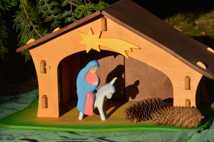 Karthaus Ostheimer Versand Maria auf ihrem Esel