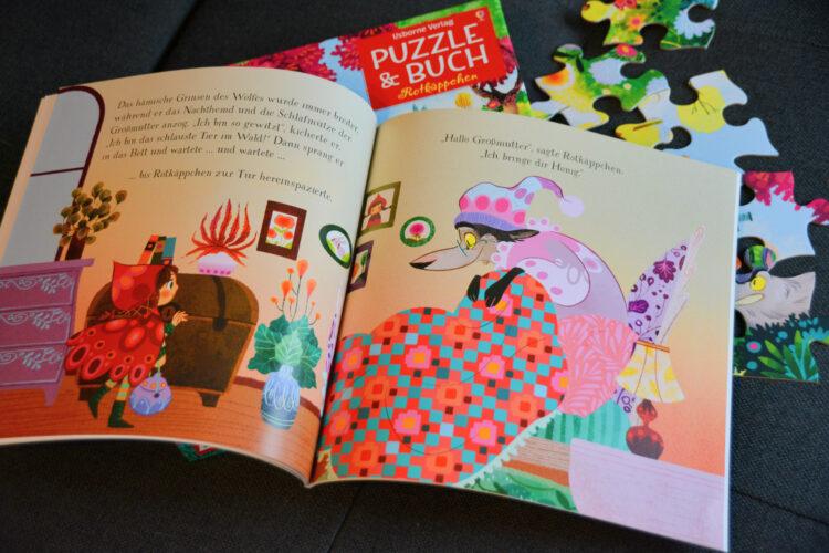 Puzzle & Buch Rotkäppchen