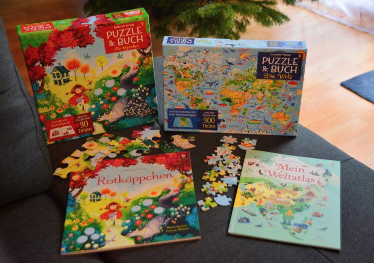 Puzzle & Buch Usborne Verlag