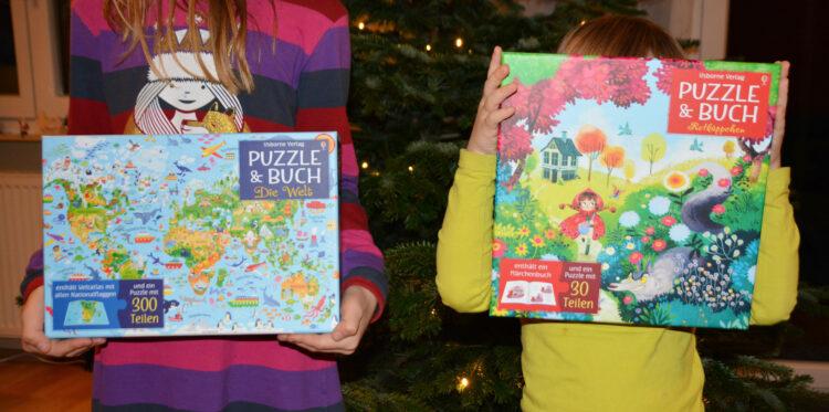 Puzzle & Buch Usborne Verlosung