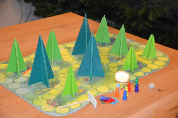 Waldschattenspiel Waldorfkindergarten