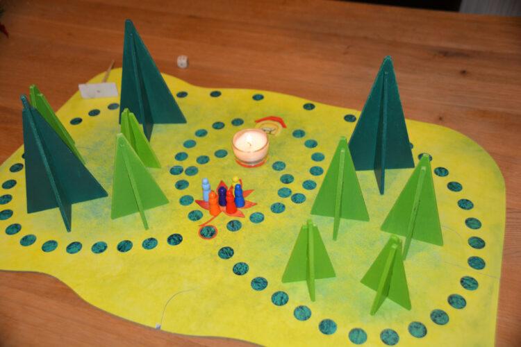 Waldschattenspiel Spielfeld