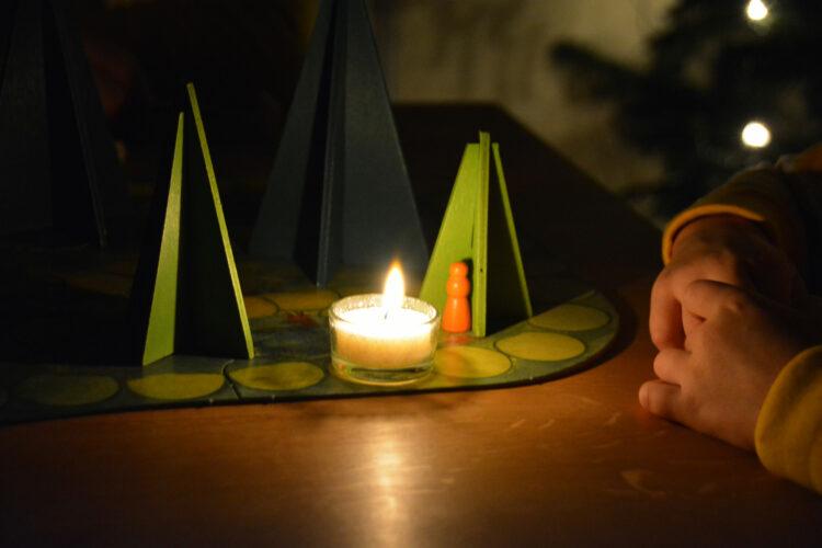 Waldschattenspiel Zwerg