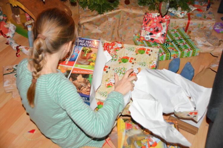 Weihnachtsfest mit Kindern