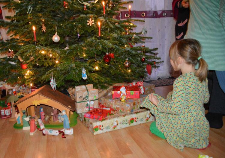 Weihnachtsfest in Familie