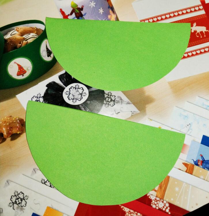 Weihnachtsbaum-Weihnachtskarten