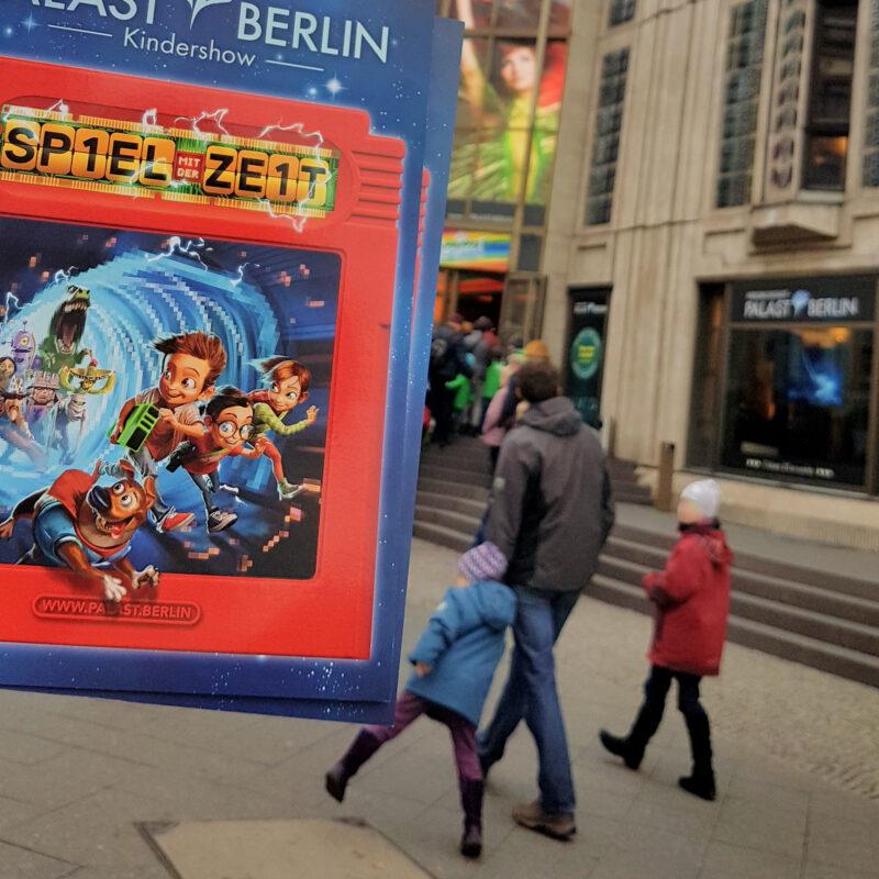 Spiel mit der Zeit: Die Kindershow von Kindern für Kinder und Familien!