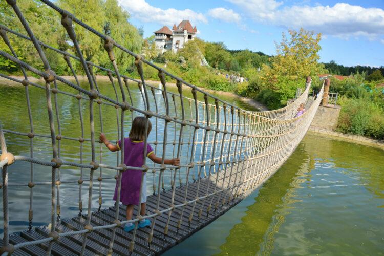 Hängebrücke Tripsdrill