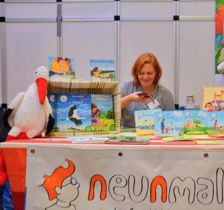 Neunmalklug Verlag auf der Buchmesse
