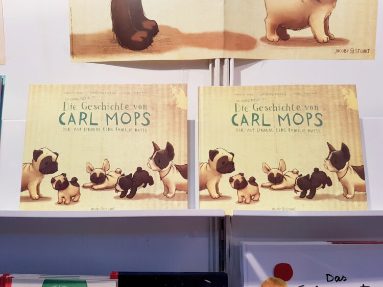 Kinderbuch Carls Mops