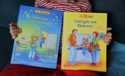 Die neue Conni: Conni kann nicht einschlafen und Conni geht zum Kinderarzt