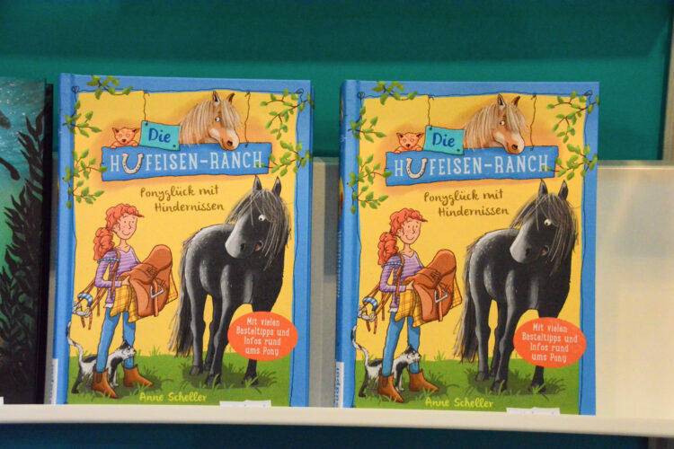Kinderbuch Hufeisen-Ranch