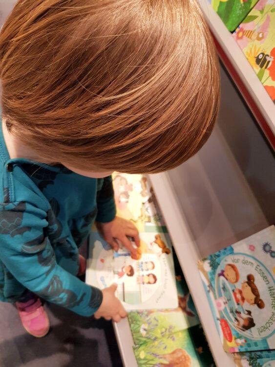 Leipziger Buchmesse mit Familie