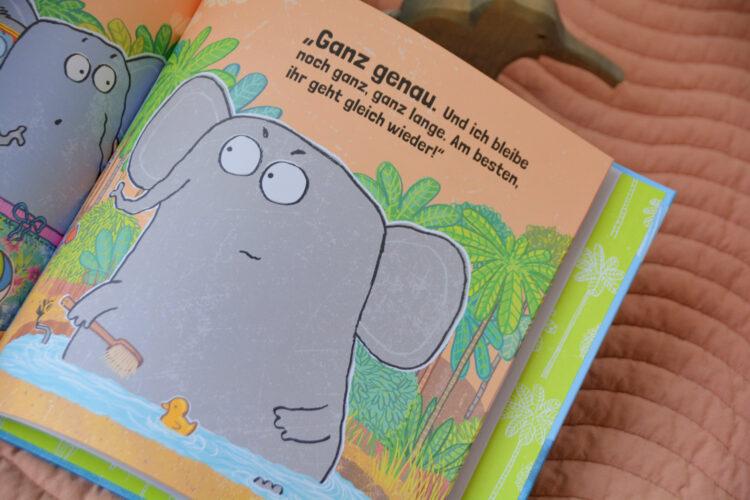 Mitmachbuch mit Elefant
