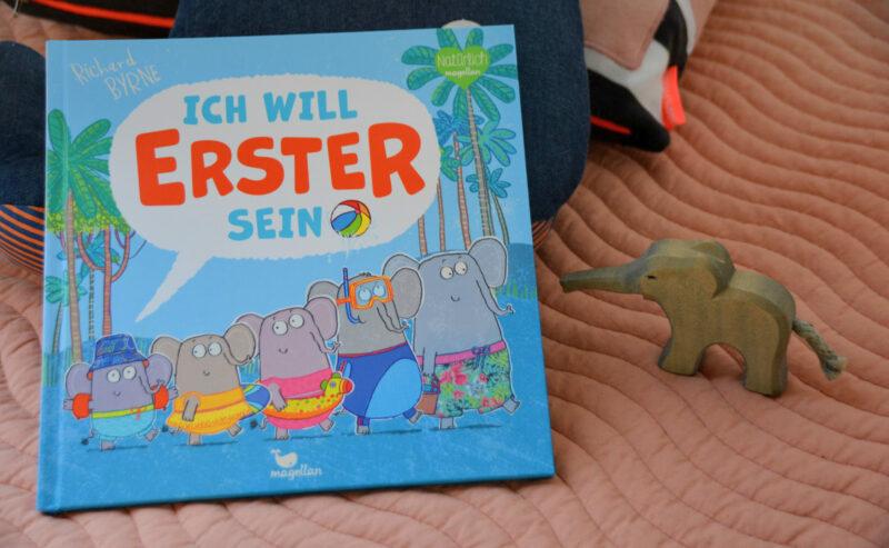 Ich will Erster sein – Das Mitmachbuch mit dem schlauen kleinen Elefanten