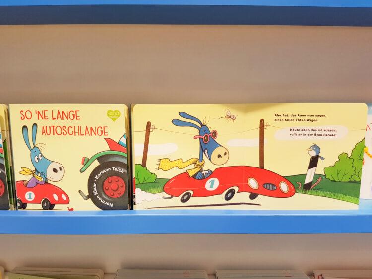 Pappbilderbuch Autostau