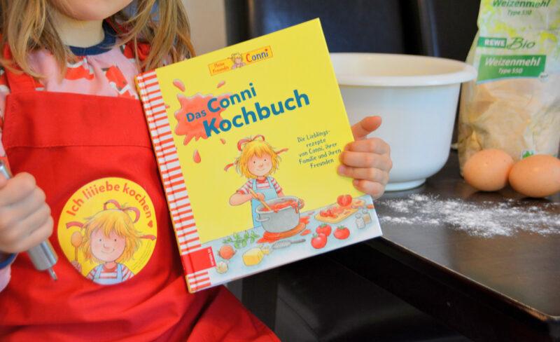 Das Conni Kochbuch: Ab sofort schwingen unsere Kinder den Kochlöffel! + Gewinnspiel