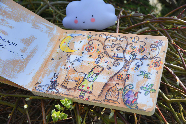 Das Mädchen und die kleine Wolke von Sarah Settgast