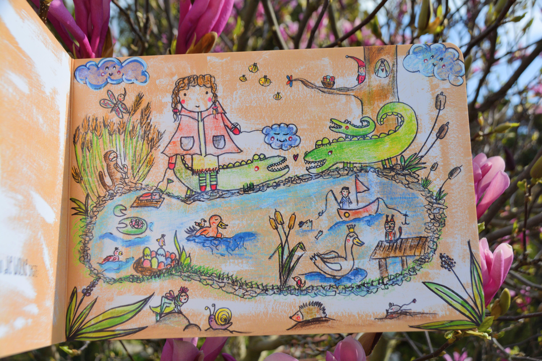 Das Mädchen und die kleine Wolke Pappbilderbuch - Kinderchaos ...