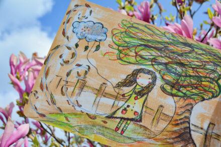 Das Mädchen und die kleine Wolke von Sarah Settgast + Verlosung