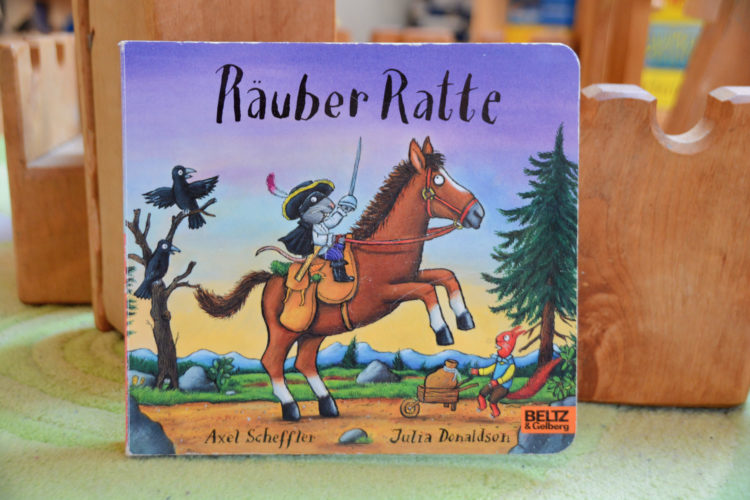 Kinderbuch Räuber Ratte