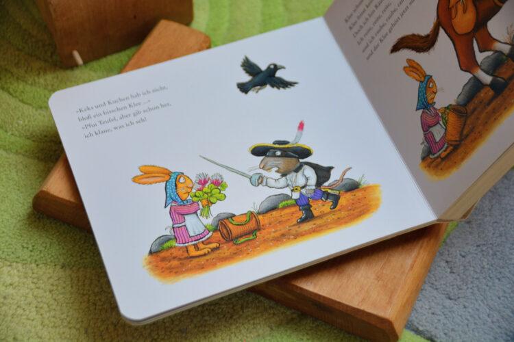 Pappbilderbuch Räuber Ratte
