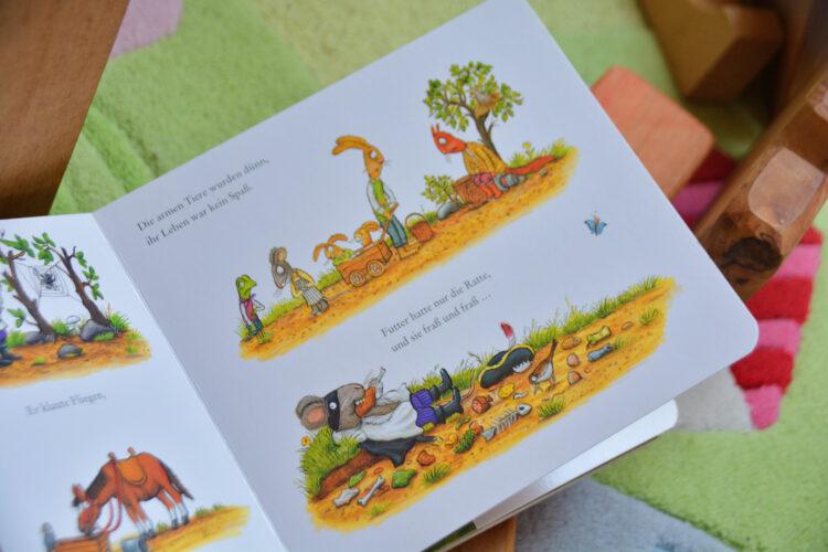 """Pappbilderbuch """"Räuber Ratte"""""""