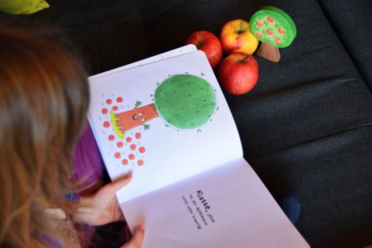 Apfelbaum Mitmachbuch