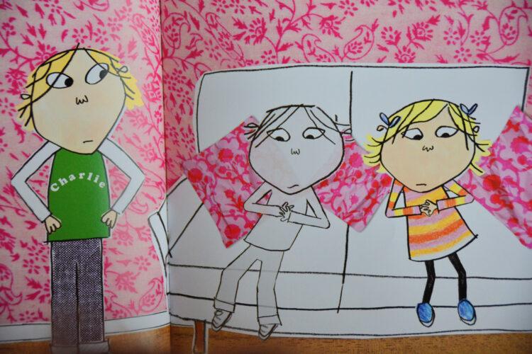 Charlie, Lola und Sören Lorenson